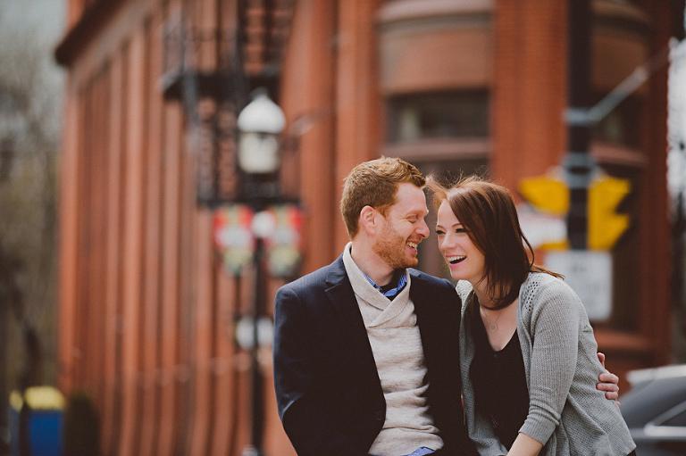 Front Street Wedding Photo