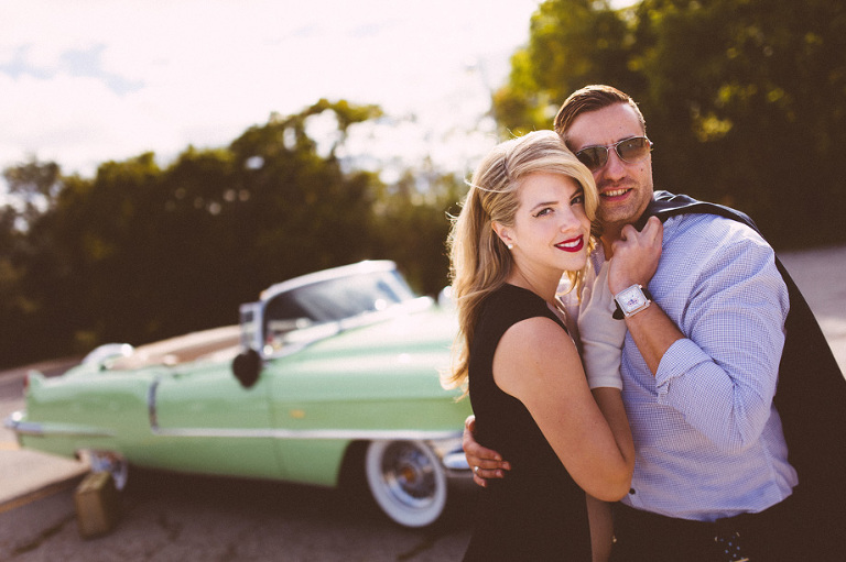 Vintage Engagement Shoot by Toronto Wedding Photographer