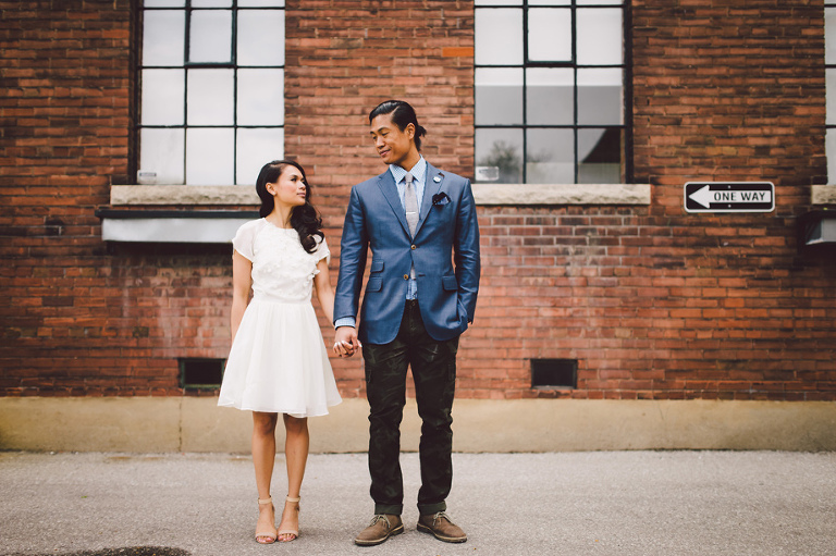 Liberty Village Engagement Photos