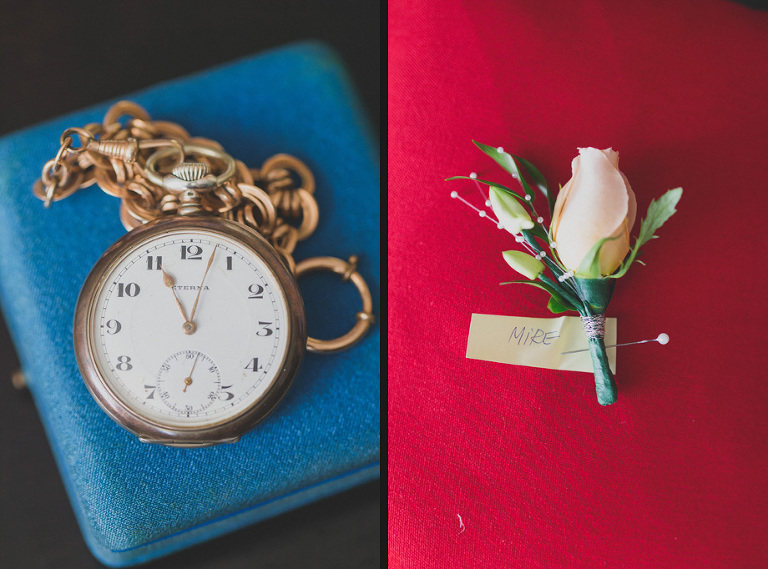 Pocket Watch And Boutonniere