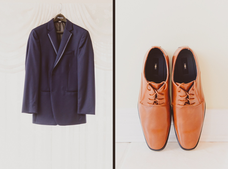 Groom's Suit and Shoes